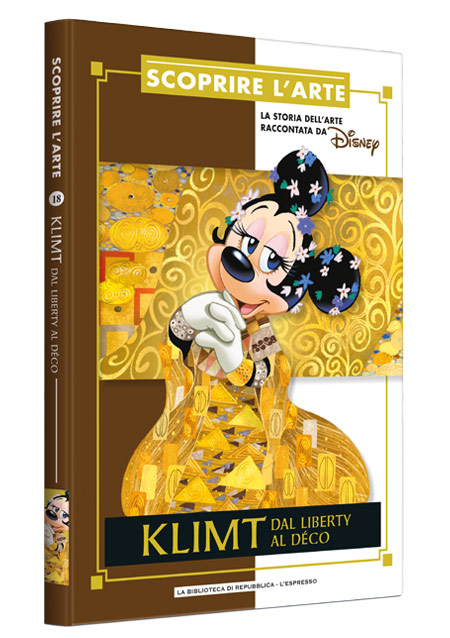 Cover Scoprire l'arte 18 - Klimt. Dal liberty al decò