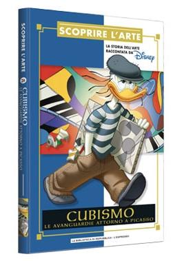 Cover Scoprire l'arte 20 - Cubismo. Le avanguardie attorno a Picasso.