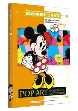 Cover Scoprire l'arte 23 - Pop art. Da Warhol a Lichtenstein
