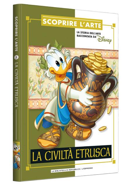 Cover Scoprire l'arte 3 - La civiltà etrusca