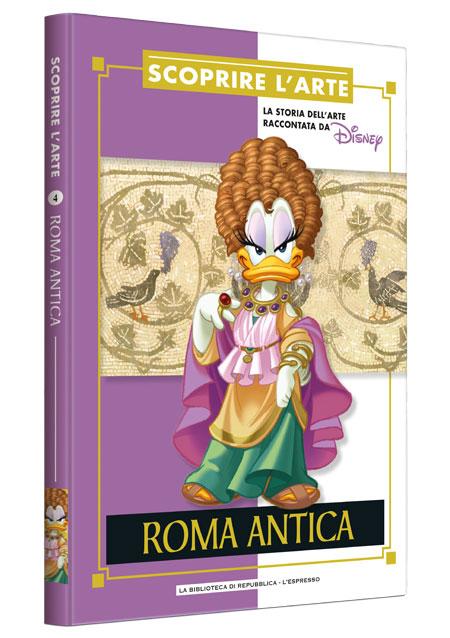 Cover Scoprire l'arte 4 - Roma antica