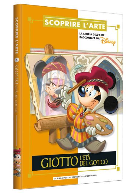 Cover Scoprire l'arte 5 - Giotto. L'età del gotico