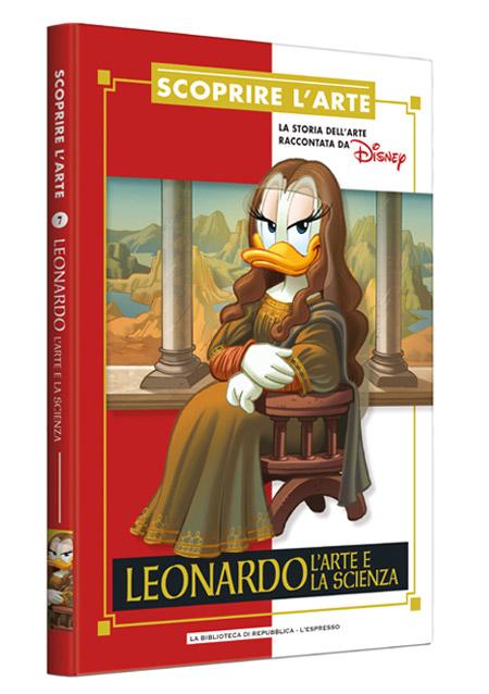 Cover Scoprire l'arte 7 - Leonardo. L'arte e la scienza
