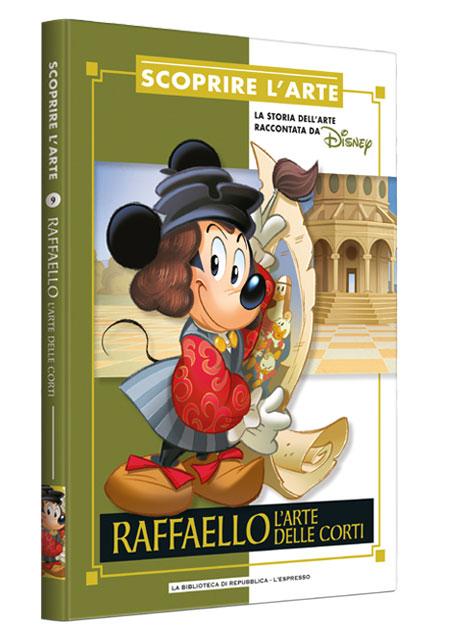 Cover Scoprire l'arte 9 - Raffaello. L'arte delle corti