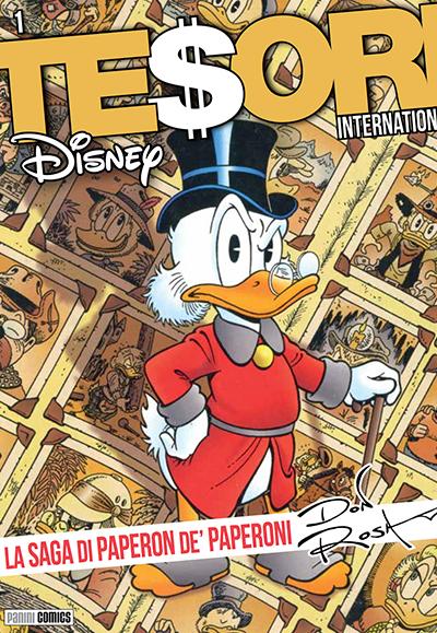 Cover Tesori International 1 - La Saga di Paperon de' Paperoni - Don Rosa