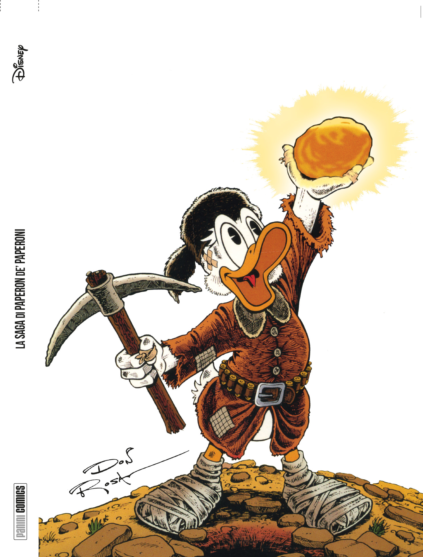Cover variant Tesori International 1 - La Saga di Paperon de' Paperoni - Don Rosa
