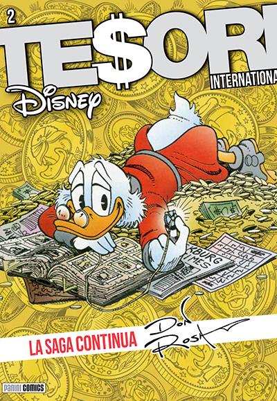 Cover Tesori International 2 - La Saga continua - Don Rosa