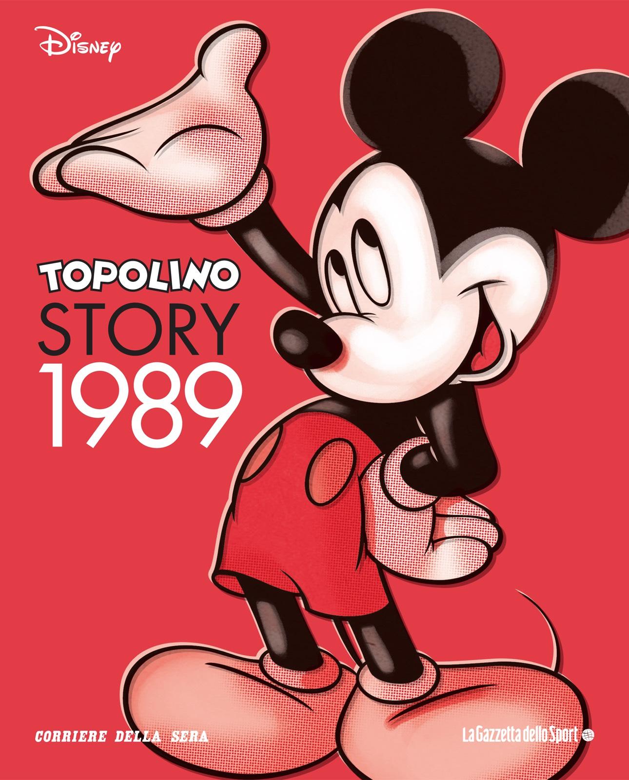 Cover Topolino Story 10 - 1989