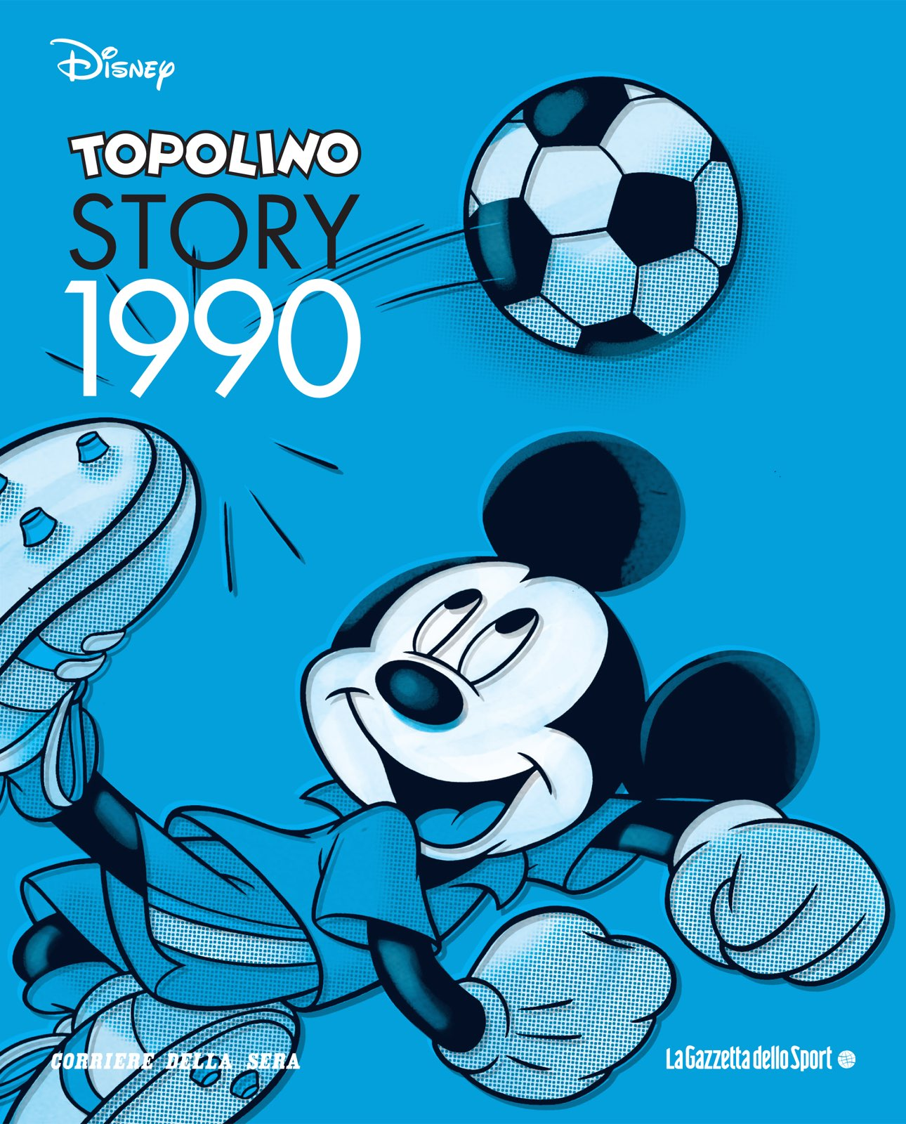 Cover Topolino Story 11 - 1990
