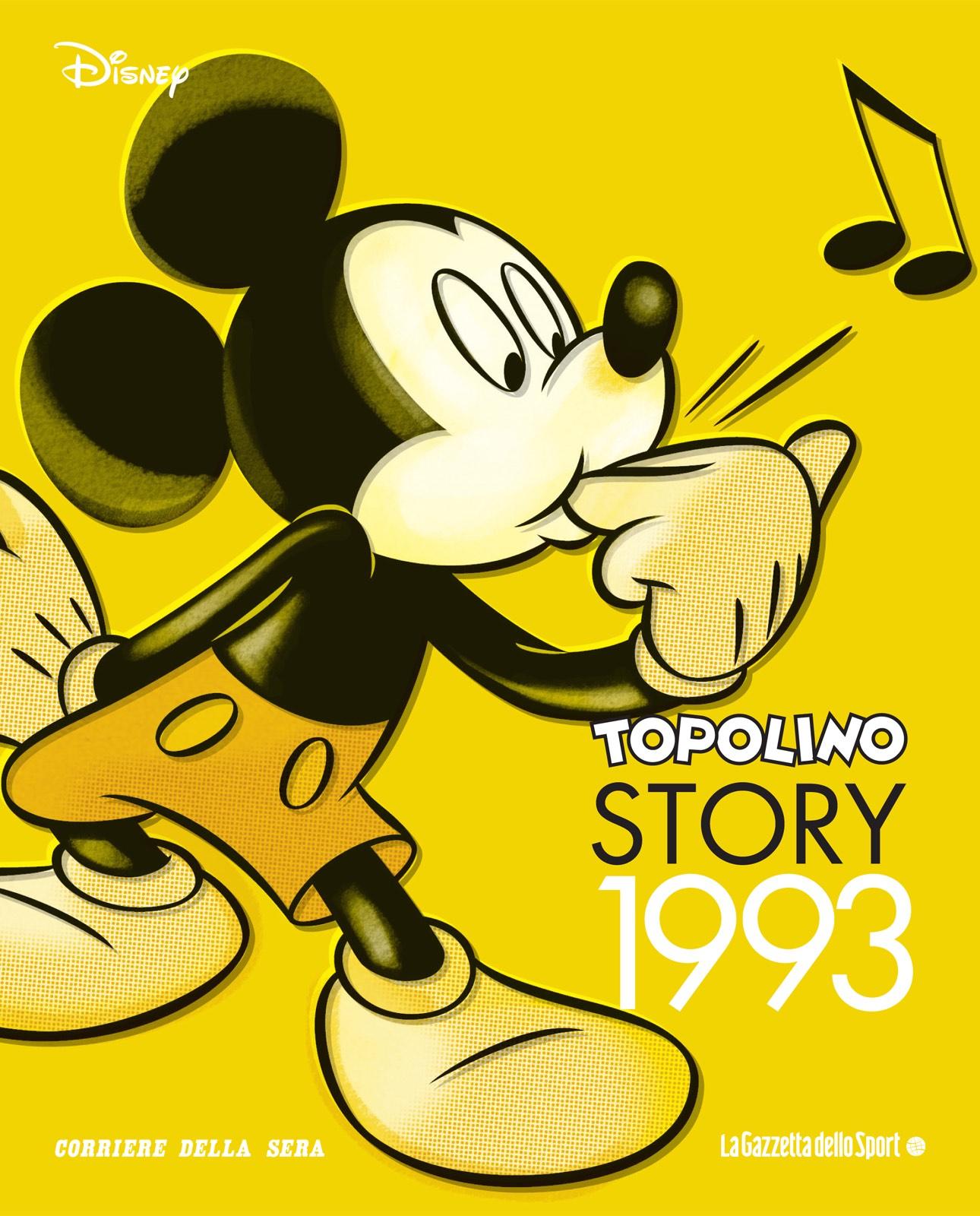Cover Topolino Story 14 - 1993