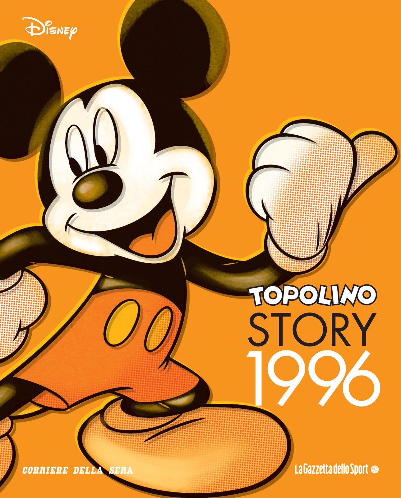 Cover Topolino Story 17 - 1996