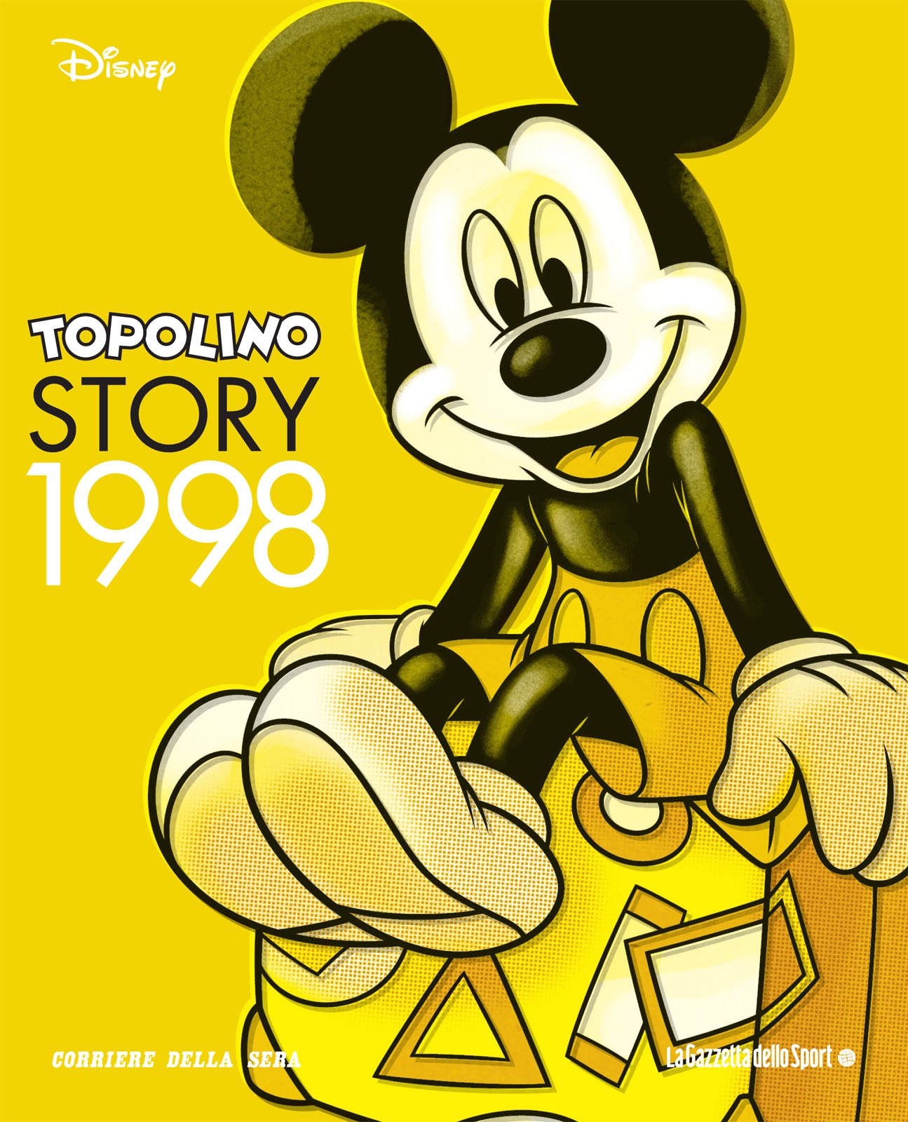 Cover Topolino Story 19 - 1998