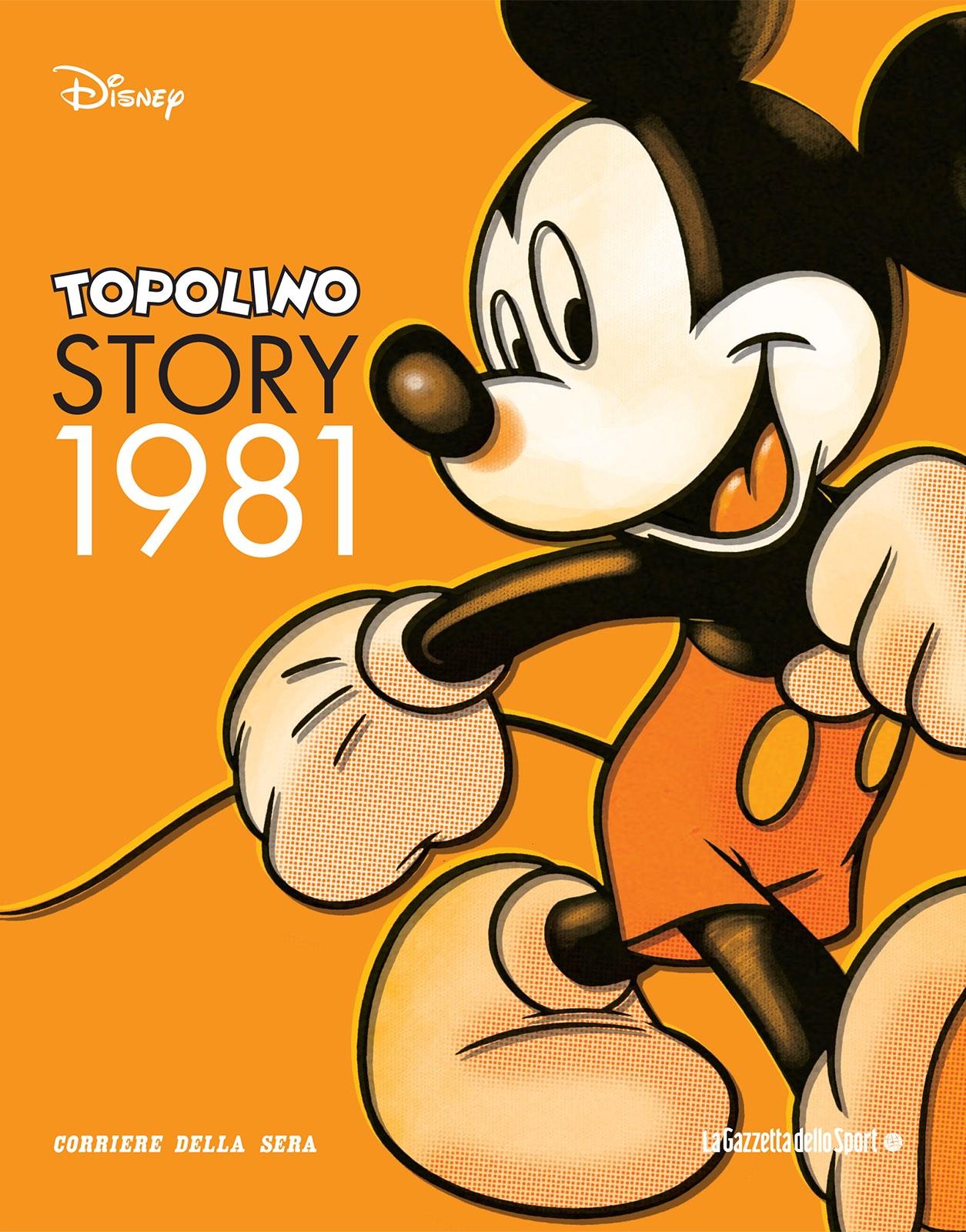 Cover Topolino Story 2 - 1981