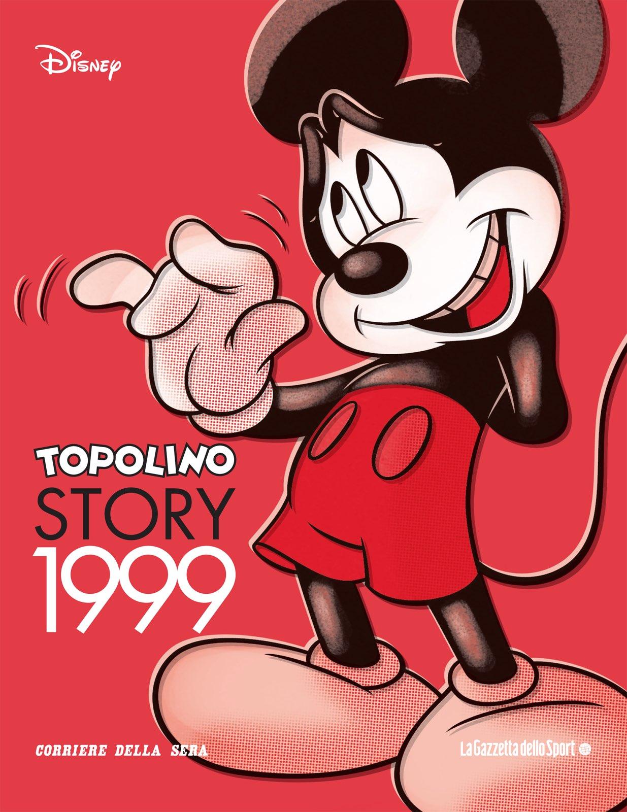Cover Topolino Story 20 - 1999
