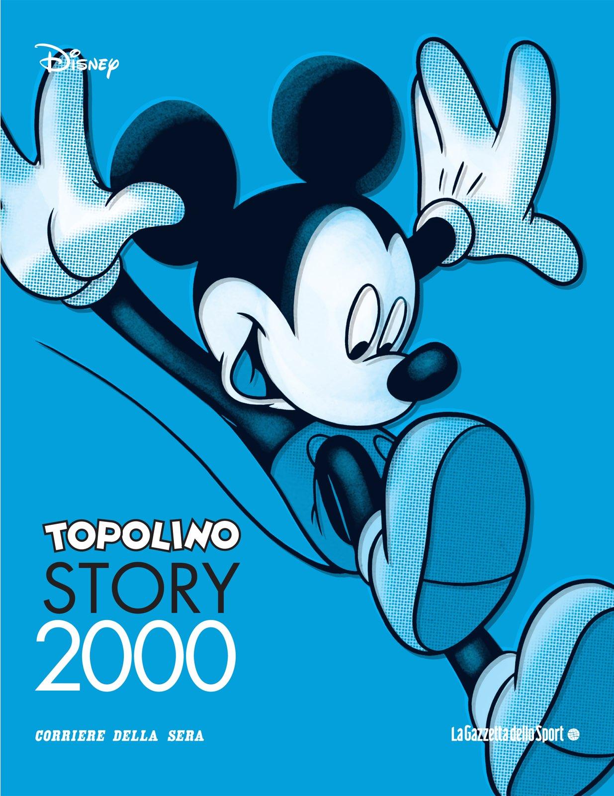 Cover Topolino Story 21 - 2000