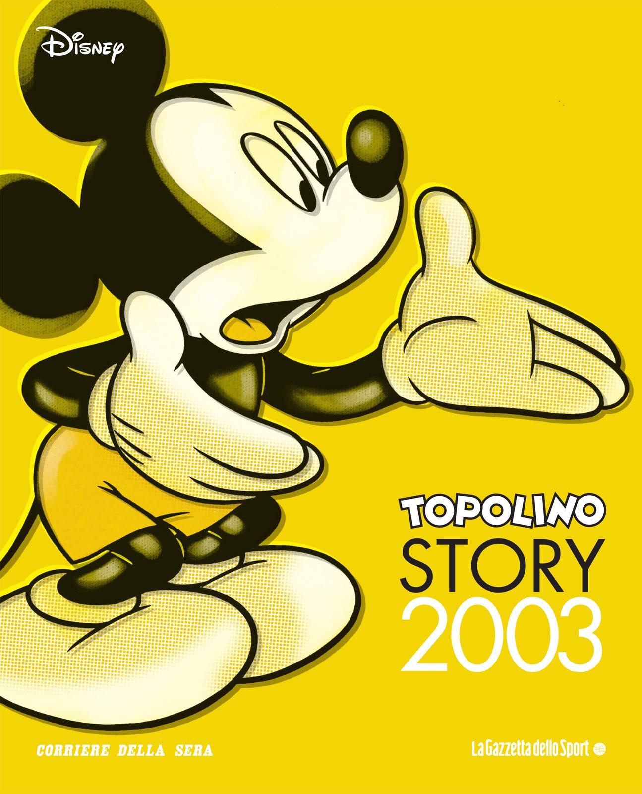 Cover Topolino Story 24 - 2003