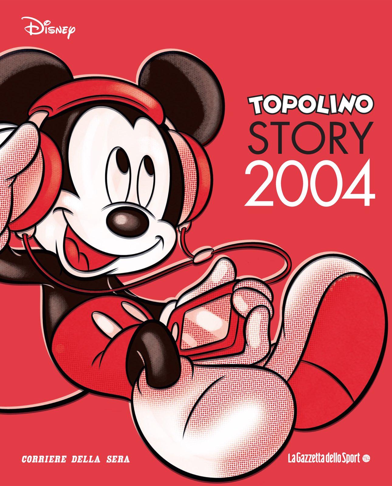Cover Topolino Story 25 - 2004