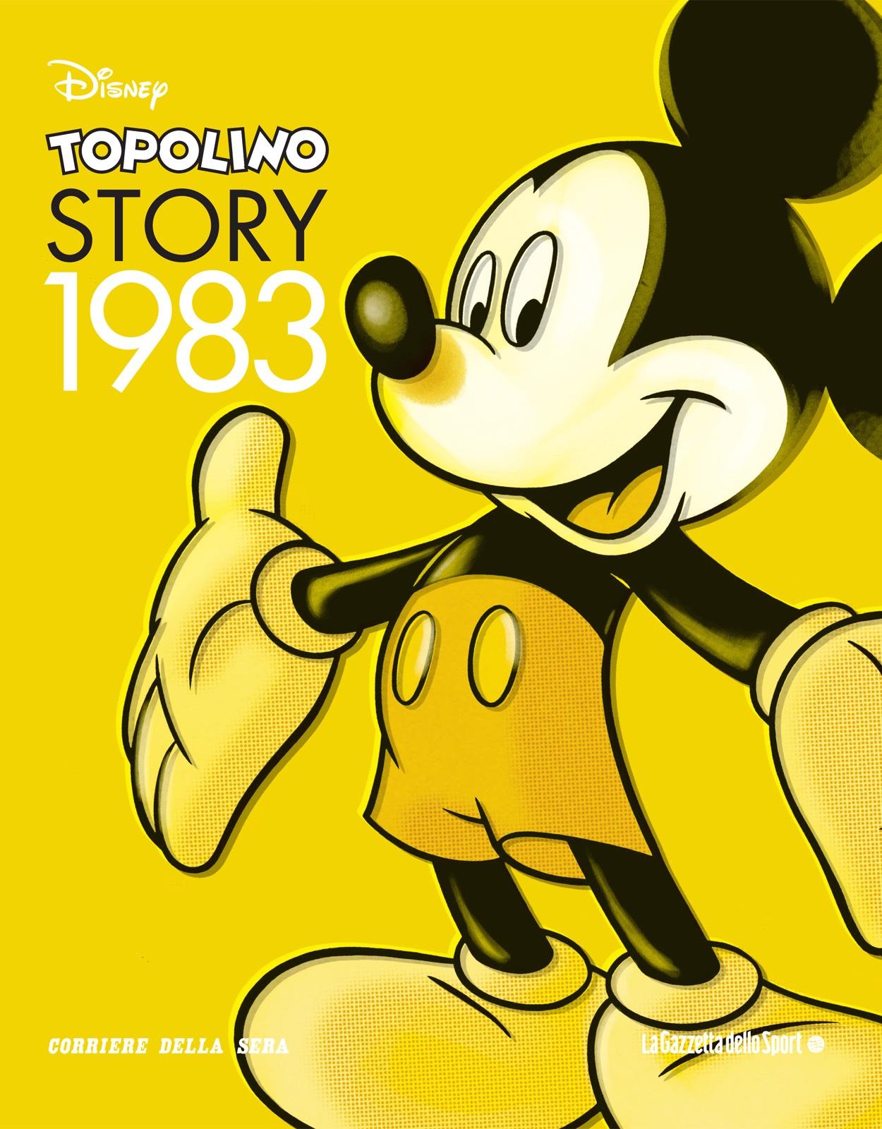 Cover Topolino Story 4 - 1983