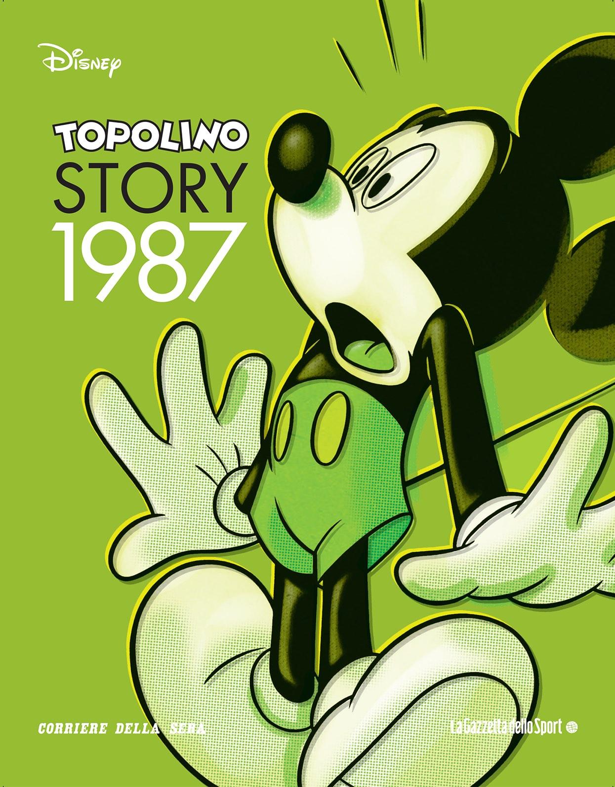 Cover Topolino Story 8 - 1987