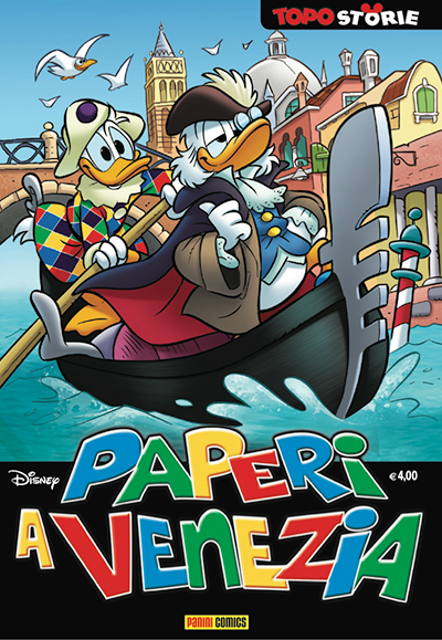 Cover Topostorie 10 - Paperi a Venezia