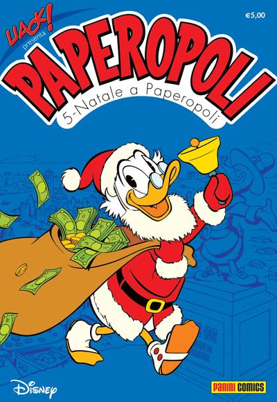 Cover Uack! 28 - Paperopoli 5 - Natale a Paperopoli