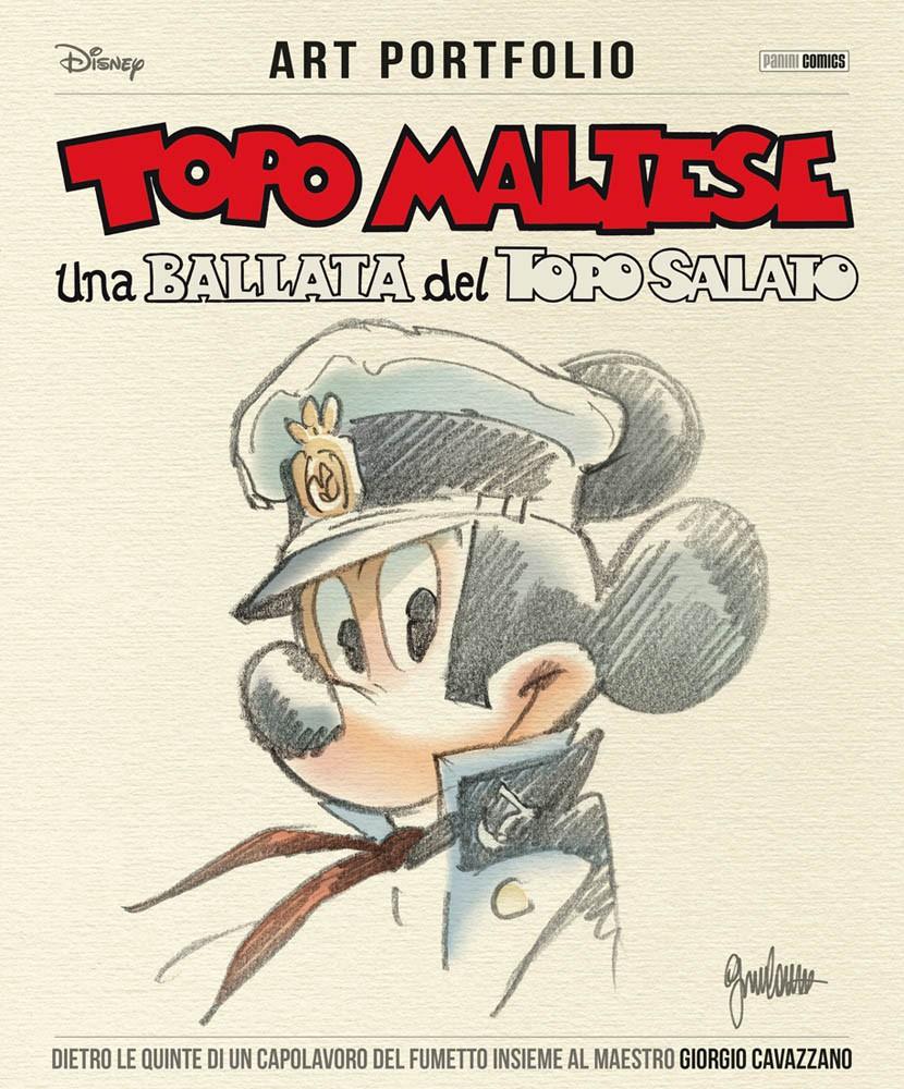 Cover Art Portfolio Topo Maltese