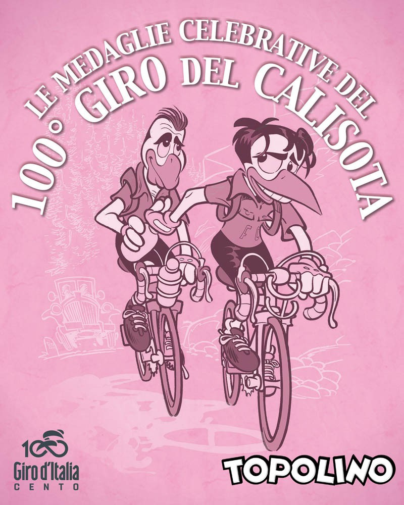Cover  Medagliere 100° Giro del Calisota