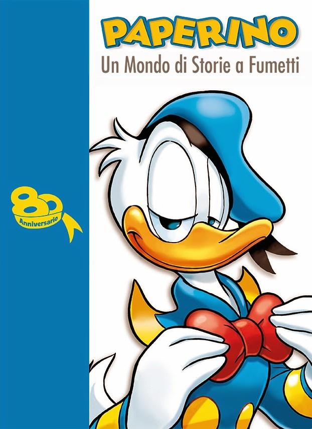 Cover Paperino - Un Mondo di Storie a Fumetti