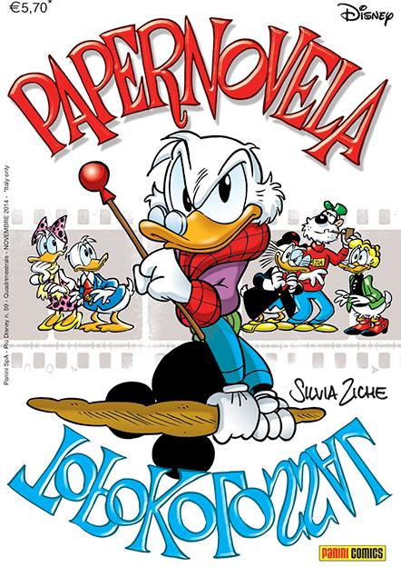 Cover Papernovela / Topokolossal