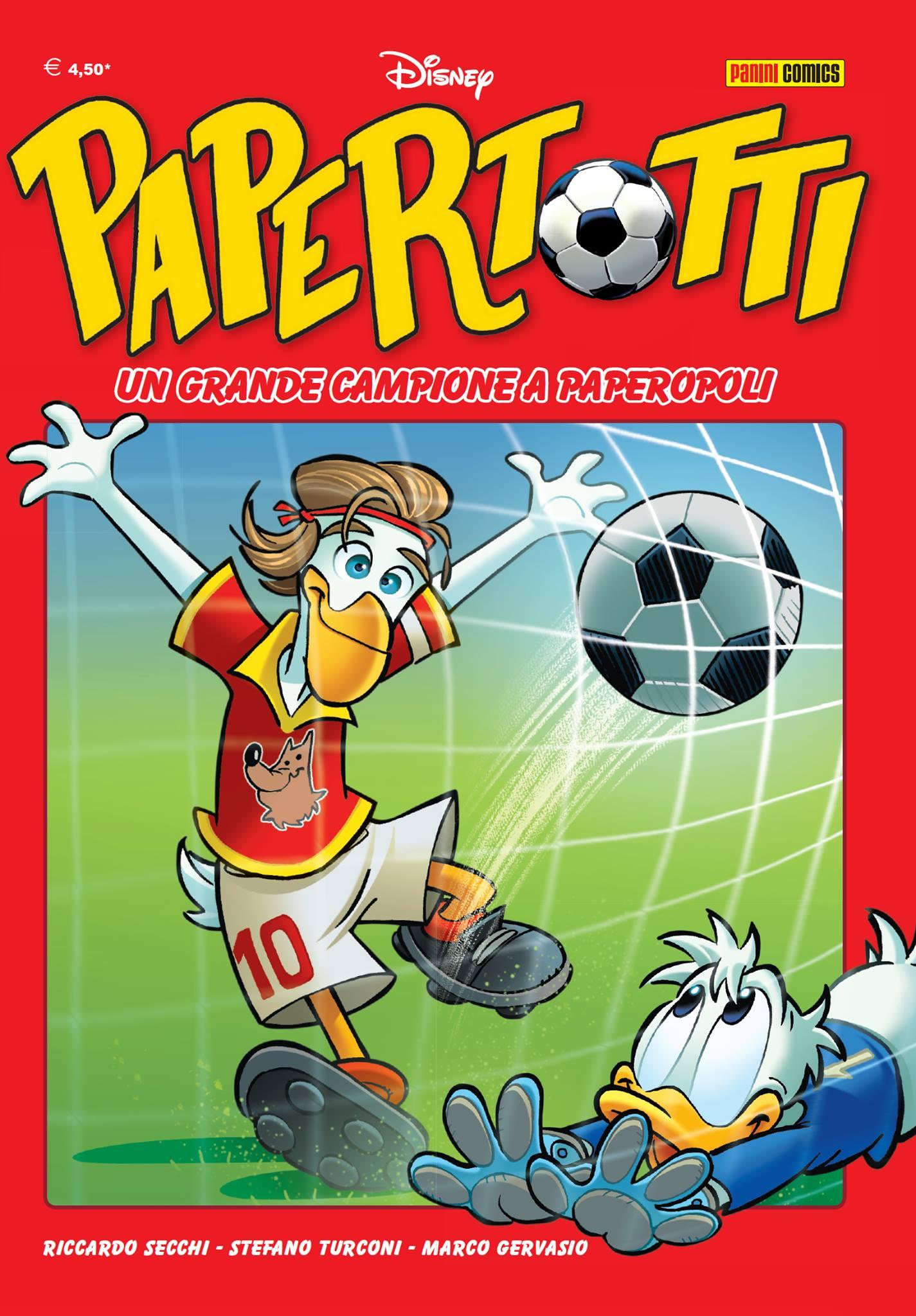 Cover Papertotti - Un grande campione a Paperopoli