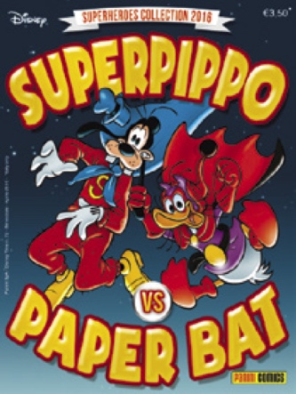 Cover Superheroes Collection 2016 - Superpippo VS Paper Bat