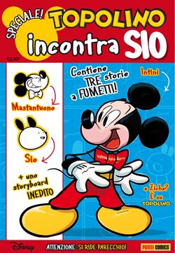 Cover Topolino incontra Sio