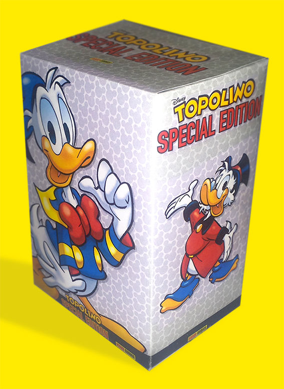 Cover Cofanetto Topolino Special Edition + Diamond Edition
