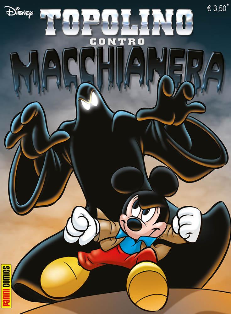 Cover Topolino VS Macchia Nera