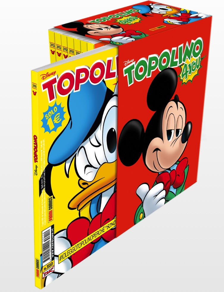 Cover Cofanetto Topolino4You + 8 topolini