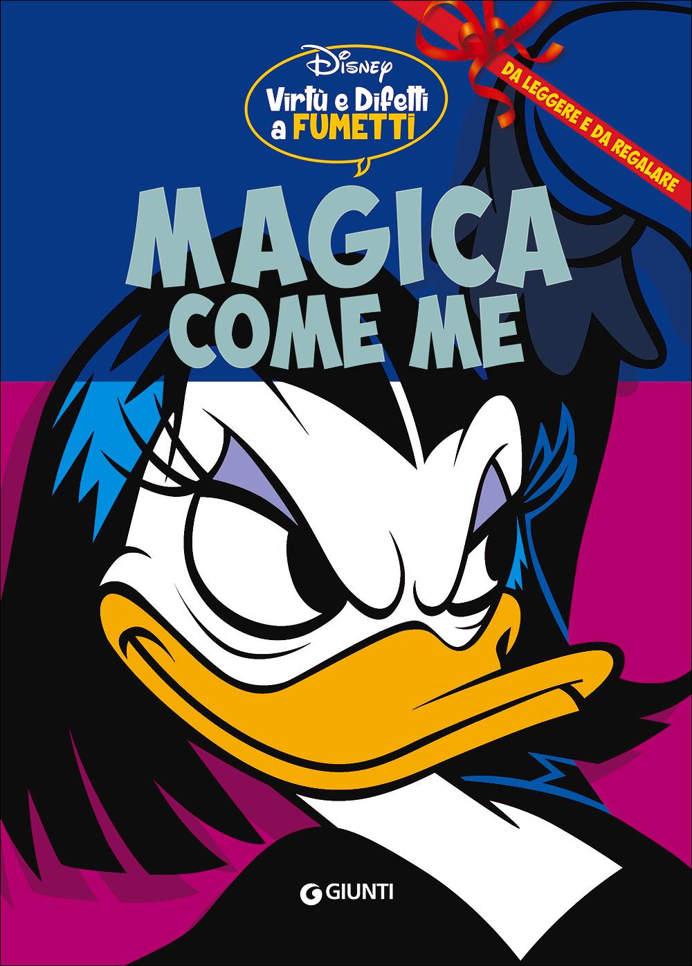 Cover Virtù e Difetti a Fumetti 6 - Magica come me