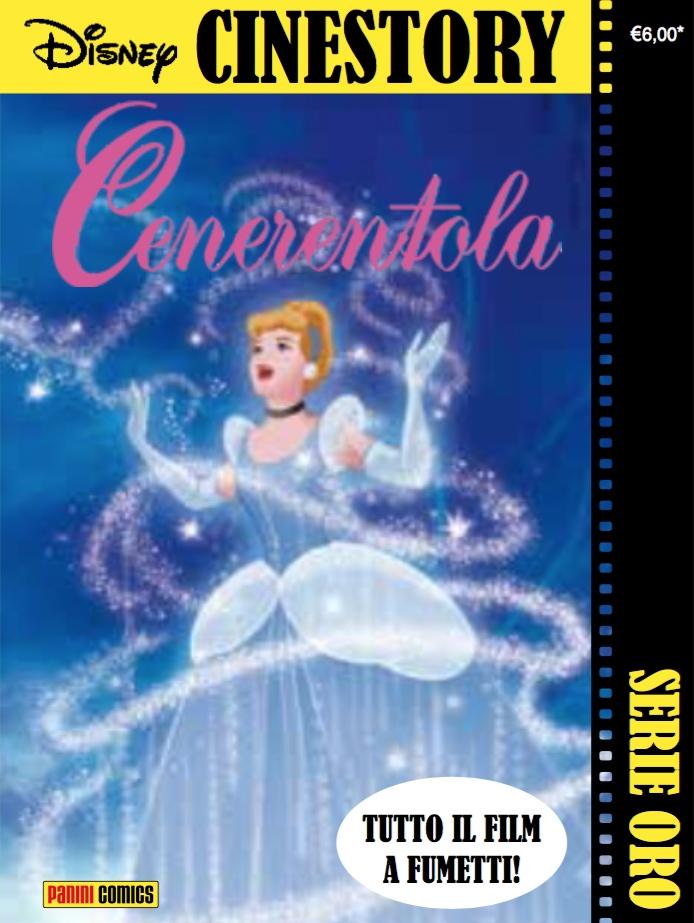 Cover Disney Cinestory Oro 2 - Cenerentola