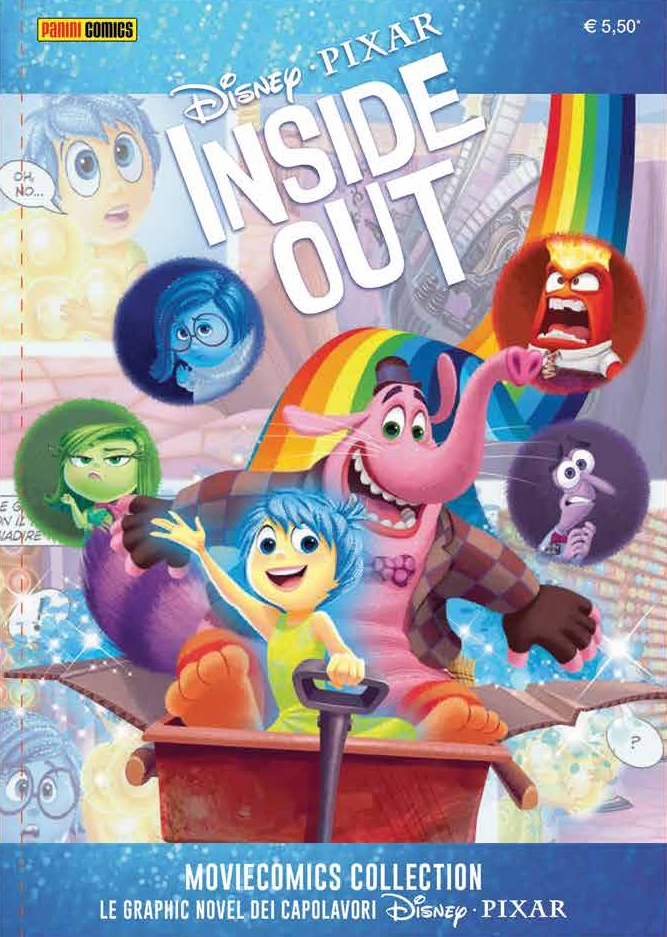 Cover Disney Pixar Moviecomics Collection 5 - Inside Out