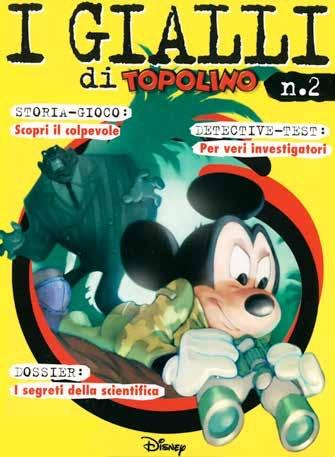 Cover I gialli di Topolino 2