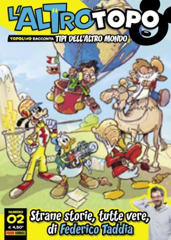 Cover L'altro Topo 2: Strane storie, tutte vere, di Federico Taddia