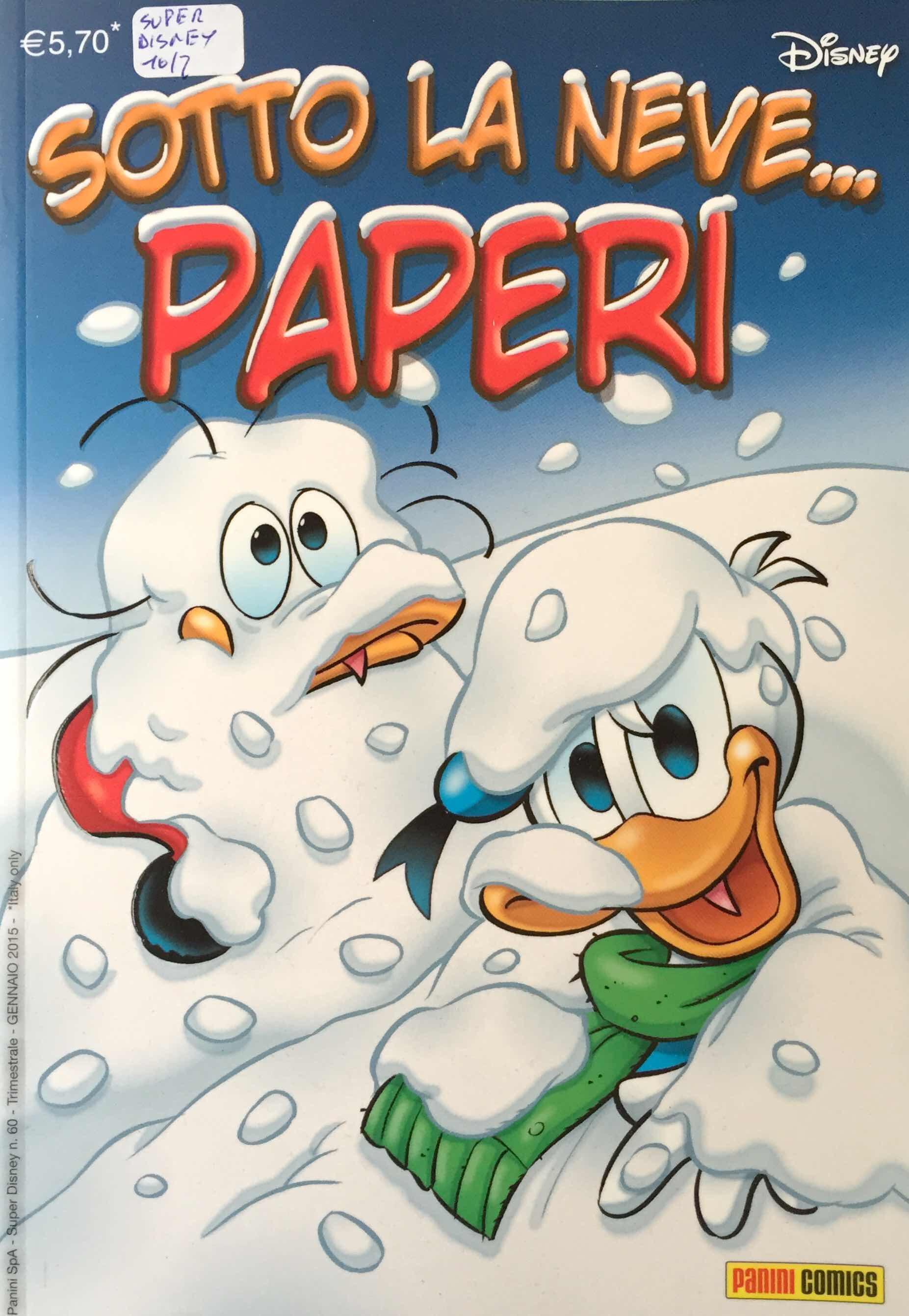 Cover Sotto la Neve... Paperi