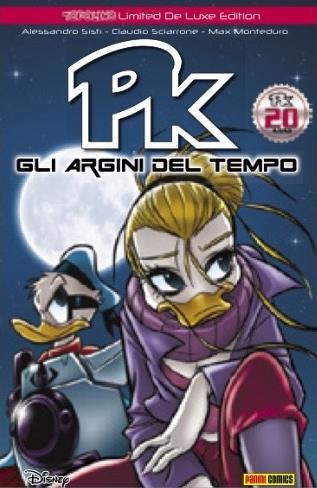 Cover variant Topolino Limited De Luxe Edition 4 - Pk Gli argini del tempo