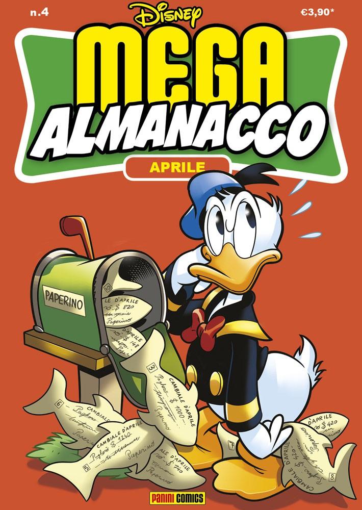 Cover Mega Almanacco 4 - Aprile