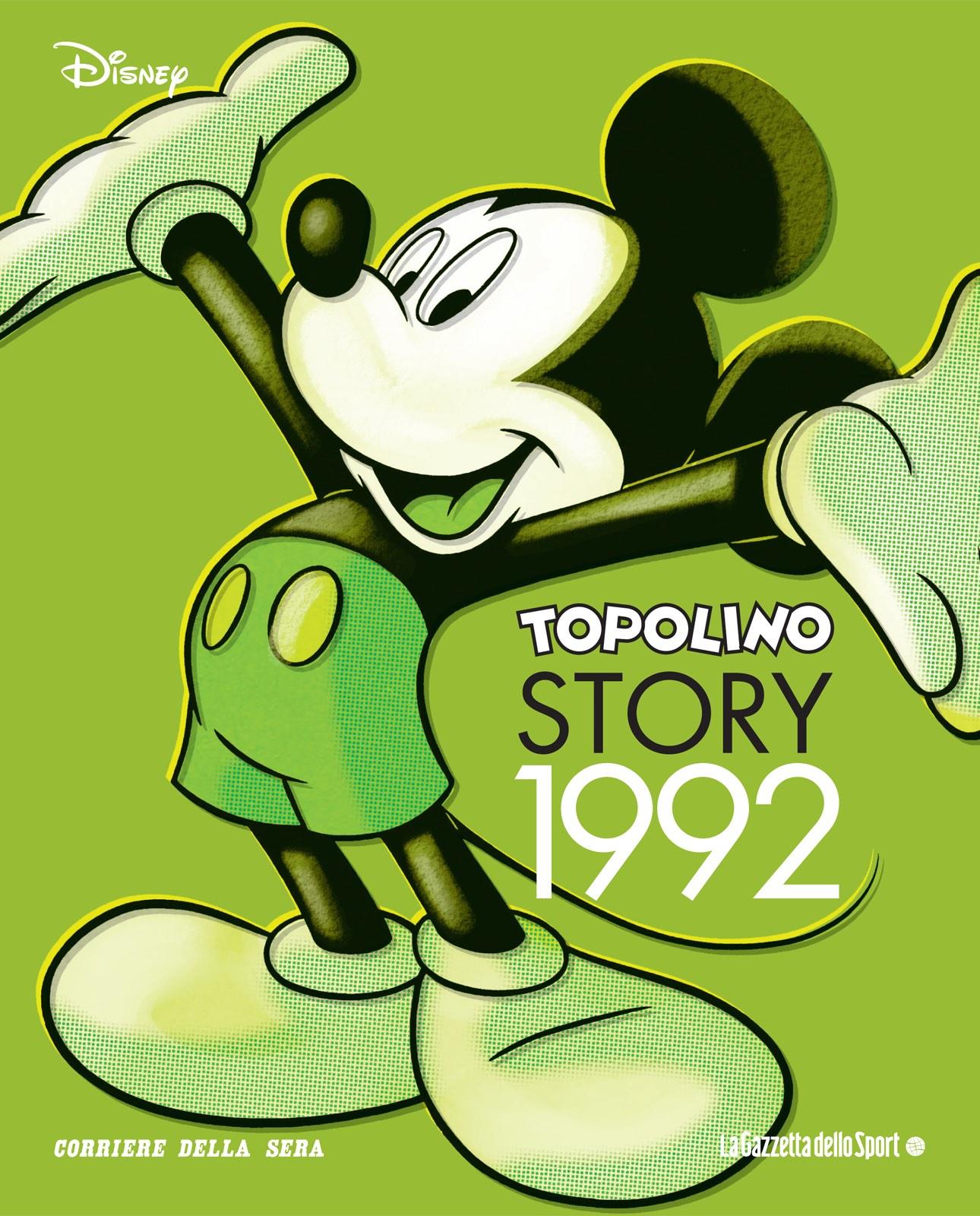 Cover Topolino Story 13 - 1992