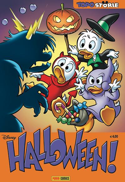 Cover Topostorie 7 - Halloween!