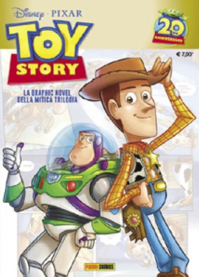 Cover Toy Story - 20mo anniversario